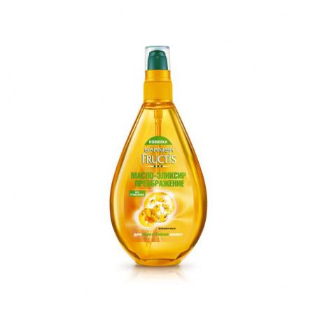 Масло-эликсир преображение для волос Fructis от Garnier