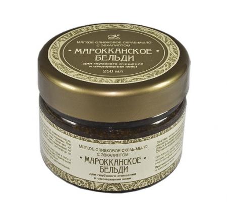 Мягкое скраб-мыло Марокканское бельди от Kleona
