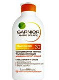 Ультраувлажняющее солнцезащитное молочко SPF 30 Ambre Solaire от Garnier