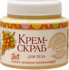 """Крем-скраб для тела с маслом облепихи от """"Русское Поле"""""""