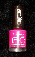 Лак  Rimmel 60 Seconds № 260