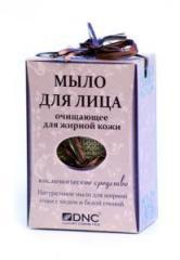 Мыло для лица очищающее для жирной кожи от DNC