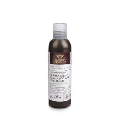 Очищающий гель-мусс для умывания для всех типов кожи от Planeta Organica (1)
