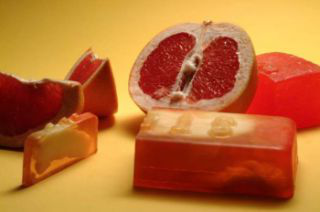 """Мыло ручной работы """"Грейпфрут"""" от STENDERS"""