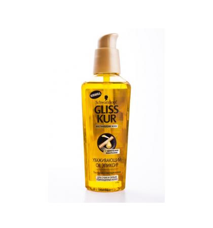 """Ухаживающий эликсир Gliss Kur """"Oil"""" для сухих и сильно поврежденных волос от Schwarzkopf"""