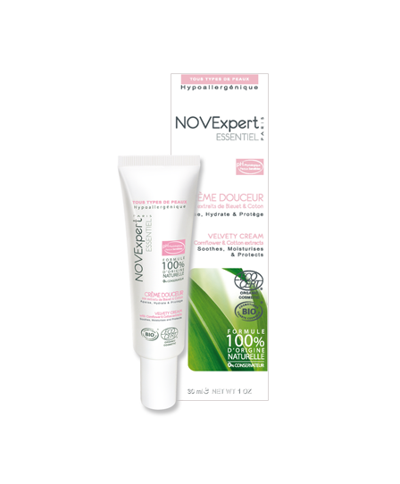 Смягчающий крем для лица Velvety Cream от NOVExpert