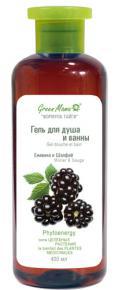 """Гель для душа и ванны """"Ежевика и шалфей"""" от Green Mama"""