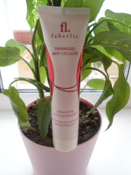 Термогель-антицеллюлит от Faberlic
