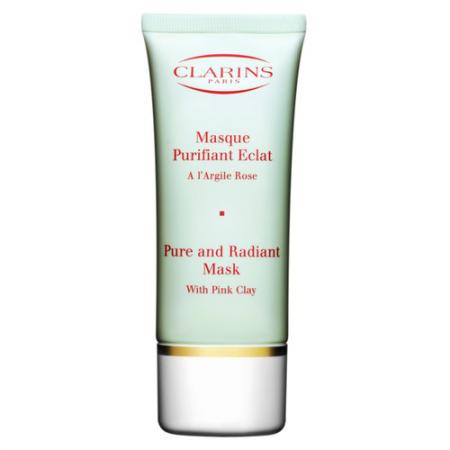 Очищающая маска для лица на основе розовой глины от Clarins