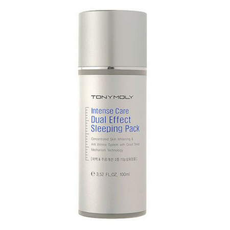 Ночная маска для лица Intense Care Dual Effect Sleeping Pact от TONY MOLY