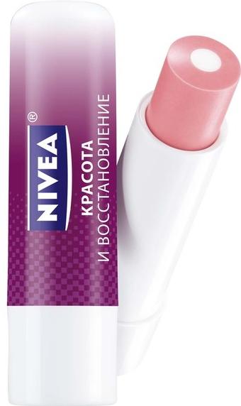 """Бальзам для губ """"Красота и восстановление"""" от Nivea"""