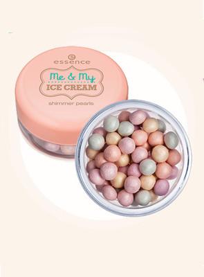 Пудра в шариках Shimmer pearls от Essence