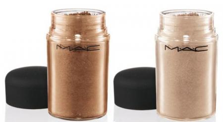 Рассыпчатый пигмент (оттенки Tan, Naked) от MAC