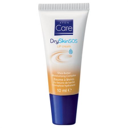 Увлажняющий бальзам для сухой кожи губ с маслом Ши Dry Skin SOS Lip Balm от Avon