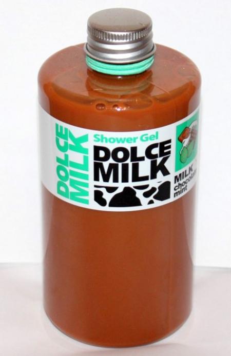 """Гель для душа """"Молоко, шоколад, мята"""" от Dolce Milk"""