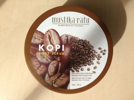 """Скраб для тела """"Кофе"""" от Mustika Ratu"""