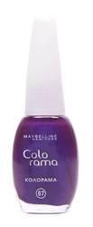 Лак для ногтей Colorama (оттенок №67 - Лиловое чудо) от Maybelline
