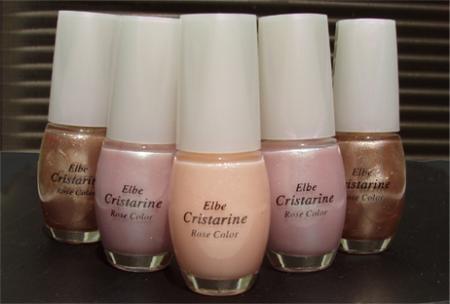 Лак для ногтей Elbe Cristarine Rose Color (оттенок № 622) от Roseekorea