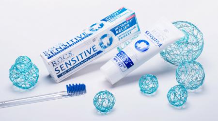 Зубная паста для чувствительных зубов SENSITIVE Instant Reliefот R.O.C.S.