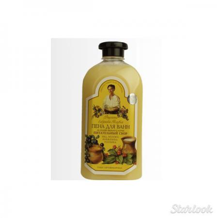 """Пена для ванны """"Питательный сбор"""" от Рецепты бабушки Агафьи"""