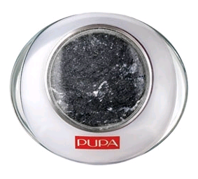 Запеченные тени для век Luminys (оттенок № 12 Shimmering Black) от Pupa