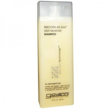 Шампунь для интенсивного увлажнения и разглаживания волос от Giovanni