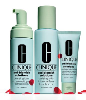 Набор 3-Cтупенчатая Система для ухода за проблемной кожей Anti-Blemish 3-Step System от Clinique
