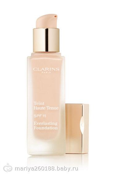 Тональный крем Teint Haute Tenue Everlasting Foundation spf 15 (оттенок № 110 Honey) от Clarins