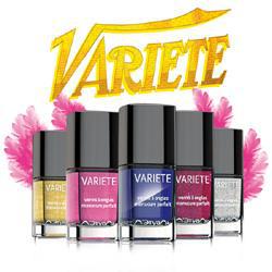 Лак для ногтей Variete (оттенок № 418 Cabaret Amarante) от Л'Этуаль