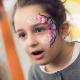 Идеи рисунков на лице для детей