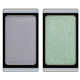 Тени для век Eyeshadow duochrome (оттенки 278 Violet gemstone и 246 Green atlantis) от Artdeco