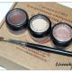 Минеральные тени для век Mineral eye shadow (оттенки Smitten и Surreal) от Colorevolution