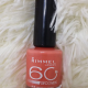 Лак для ногтей 60 Seconds (оттенок № 415 Instyle coral) от Rimmel