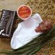 Набор по уходу за кожей стоп: Носочки косметические и Крем-концентрат, воск для ног Для гладких и нежных пяточек от DNC