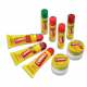 Восстанавливающие бальзамы для губ Soothing Strawberry и Vanilla от Carmex