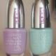 Лак для ногтей Gummy matt (оттенки Gummy Lilac и Gummy Aqua Green) от Pupa