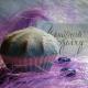 """Бурлящий шар для ванны """"Черничный взгляд"""" от Мыловаров (1)"""