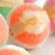 """Бурлящий шар для ванны """"Персик"""" от Caramel"""