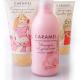 Уходовая детская косметика: соль для ванны, бальзам для волос, спрей для волос и крем для рук от Caramel