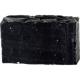 Натуральное мыло ручной работы «Черное с углем» от Мыловаров (1)