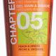 """Гель для душа Chapter """"Персик и орхидея"""" от Mades Cosmetics"""